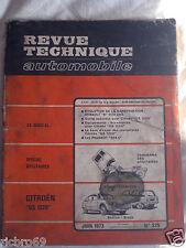 Revue technique automobile n°325 Juin 1975 Citroën GS 1220 Renault 8