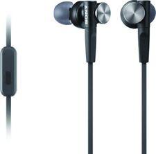 Sony MDR-XB50AP/B Extra Bass Earbud Headset- MDRXB50AP/B Black