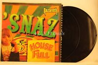 "Snaz -  House Full Nazareth, 2 LP Record 12"" VG"