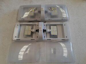 Caravan Double LED Lights 2 X  24 LED Globes