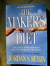 The Maker's Diet: 40 Day Health Experience by Jordan S. Rubin (2005, Paperback)