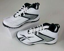 Reebok Mens Ferocious Quag Football Cleats Size 13 Nfl Equipment White Black