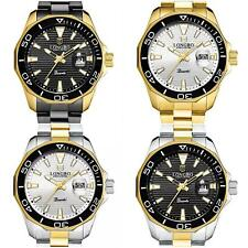 Top Brand Waterproof Watch For Men Quartz Stainless Steel Wrist Watch Business