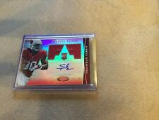 2013 Panini Certified Stepfan Taylor Freshman Fabric Autograph Red 231/250