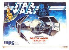 Star Wars Darth Vader Tie Fighter Model Factory Sealed Vintage 1978 MPC (B3S4)