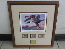 Robert Steiner 1991 New Mexico Duck Stamp Print Governors Edition Signed