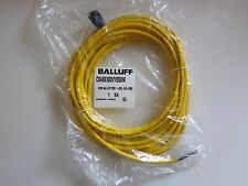 BALLUFF C04BE100VY050M Cordset, 3 Pin, Receptacle, Female 90 Deg Connector