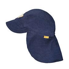 STEIFF® Jungen Denim Schirmmütze Hut mit Nackenschutz 49-55 2020 NEU!