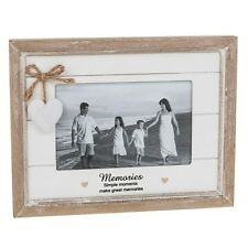"Provence Heart Shabby Chic Sentiment 6""x 4"" Photo Frame Variation Listing Gift"