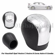 5 Velocidad Cromo POMO Cambio Para Vauxhall Opel Vectra C/B Corsa Astra G Combo