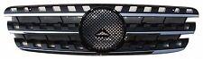 Front Grille Mercedes Benz W163 M-Class ML 96-05 Chrome & Black w/Emblem ML320