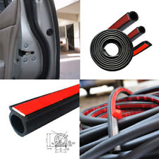 5M Car Motor Door Edge Guard Small D-Type Rubber Seal Weather Tape Strip Strap