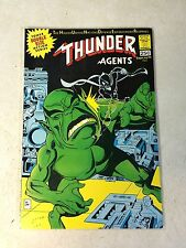 THUNDER AGENTS #15 WALLY WOOD, DYNAMO, WEED, NOMAN, 1967, LIGHTNING