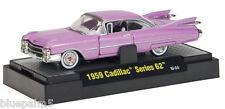 M2 Machines 1/64 1959 Cadillac Series 62 NIB pink Clamshell packing
