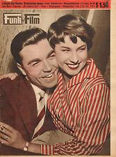 FUNK UND FILM 1955 nr. 44 - DORIS KIRCHNER & CLAUS BIEDERSTAEDT / DON CAMILLO