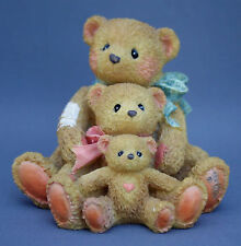Cherished Teddies Figurine Friends Come In All Sizes Hamilton Free Usa Shipping