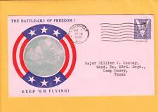 WWII Patriotic AAF Bomber Louisville KY VE DAY 1945 Scarce z9