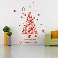 Christmas Xmas Tree Wall Window Home Shop Decor Art Vinyl Decal Sticker