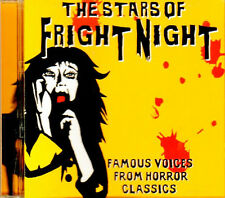 THE STARS OF FRIGHT NIGHT: FAMOUS VOICES FROM HORROR CLASSICS & HALLOWEEN SOUNDS