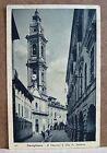 Savigliano - il Duomo e Via S.Andrea [piccola, b/n, viaggiata]