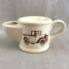 Vintage Shaving Mug Antique Automobile Wade Pottery Old Motor Car England