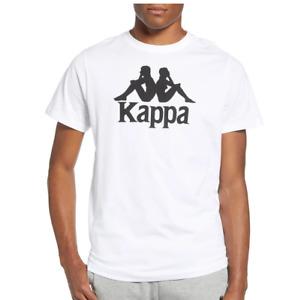 NWT Kappa Street Wear Authentic Estessi White Men's Italy T-Shirt Size Small