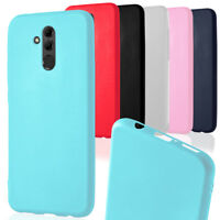 Light Slim Phone Case for Huawei Mate 20 lite Mobile Cover Silicone Cover Rubber