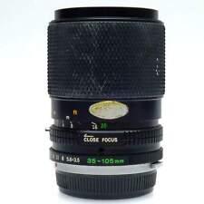 Olympus OM 35-105mm f3.5-4.5 Zoom Lens