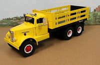 Fumby Street Motors 1957 White WC-22 Stake Truck 1:15 MIB Ltd Edition all yellow
