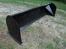 "Bobcat Skid Steer Attachment - 10' 120"" Snow Pusher Box Plow Blade - Free Ship!!"