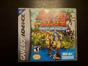 Metal Slug Advance - Nintendo Game Boy Advance GBA - Repro cart / ArtWork