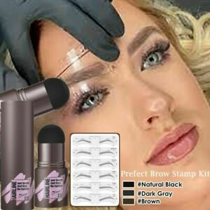 Stencils One Step Brow Stamp Shaping Kit Eyebrow Stamp Shaping Makeup Set
