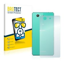 Sony Xperia Z3 Compact D5803 (Back) Best Glass Screen Protector Ultra Thin Film