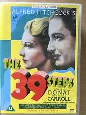 Robert Donat THE 39 STEPS 1935 Alfred Hitchcock British Thriller Classic UK DVD