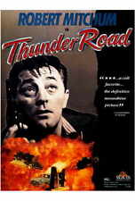 THUNDER ROAD Movie POSTER 27x40 Robert Mitchum Jacques Aubuchon Gene Barry Keely