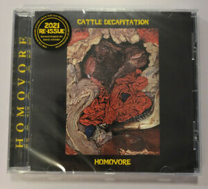 Cattle Decapitation - HOMOVORE Remastered CD 2021 Three One G - NEW! SEALED!