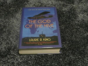 LAURIE R. KING: THE GOD OF THE HIVE: SIGNED UK 1ST EDITION HARDCOVER 1/1