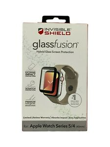 ZAGG Invisible Shield GlassFusion Screen Protector Apple Watch Series 5 & 4 40mm