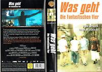 (VHS) Was geht - Die Fantastischen Vier - Thomas D, Smudo, Michael Beck, A.Rieke