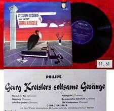25cm LP Georg Kreisler: Seltsame Gesänge