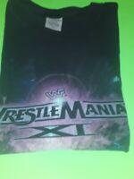Vintage WWF 1995 WrestleMania XI Original T-Shirt XL WWE Rare Wrestling