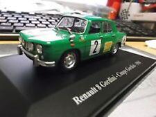 RENAULT 8 Gordini r8 COUPE 1968 #2 Igol RACING RALLY HACHETTE Eligor 1:43