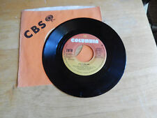 TOTO rosanna /it's a feeling  cbs columbia CBS company sleeve JUKEBOX STRIP  45