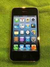 Apple iPhone 3gs - 8GB - Black (Factory Unlocked) tmobile att etc combined shipp