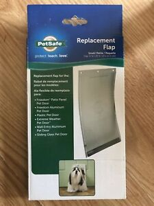 PetSafe Replacement Flap Small/Petite Fits Freedom Pet Doors. BRAND NEW!!