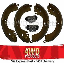 Brake Shoe & Wheel Cylinder SET - Mitsubishi Triton MK 3.0-V6 2.8D (96-01)