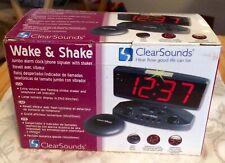 ClearSounds Wake & Shake Jumbo Alarm Clock/Phone Signaler