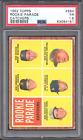 1962 Topps #594 - Rookie Parade Catchers - Bob Uecker RC - PSA 1.5 FR