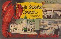 Postcard Cossie Snyder's Corner Allentown PA