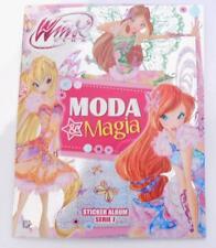 WINX MODA & MAGIA  ALBUM  VUOTO Serie 7 + 2 PACCHETTI DI FIGURINE